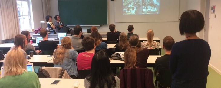 foto door Sanne Rietvelt - Videoconferentie Kansai University